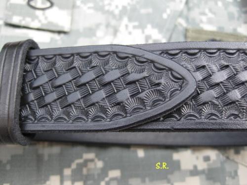 Gürtel Basketwave Detail