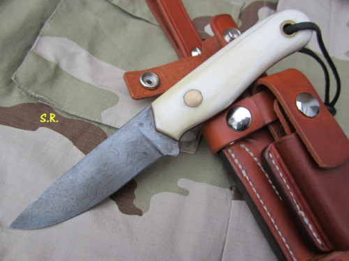 Custom Messer + Bushcraft Klinge