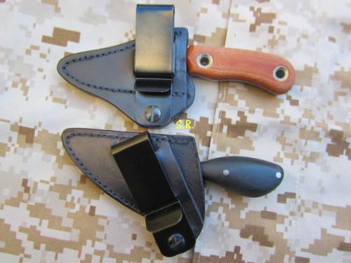 Horton und Ban Tang Knives, Custom hinten