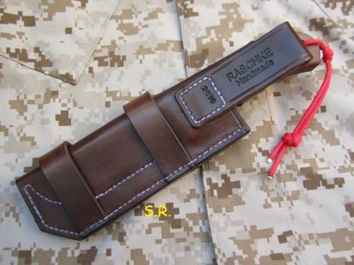 Wilkins Basic Military Fieldknife, hinten